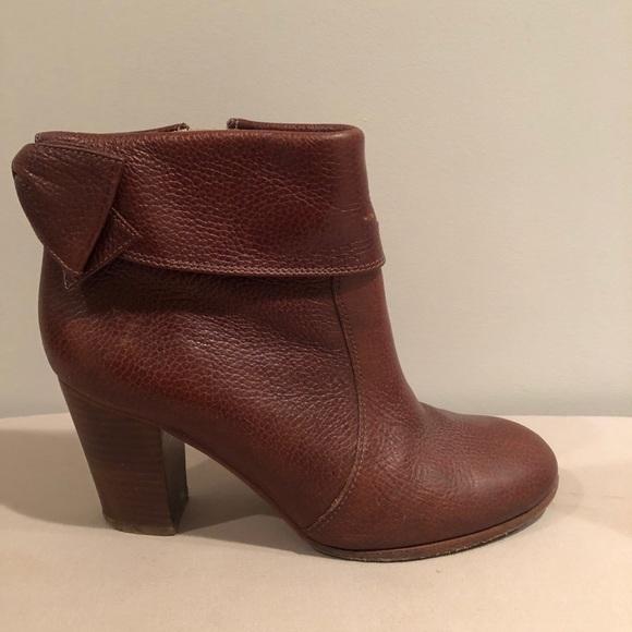 Kate Spade - block heeled booties w/ bow
